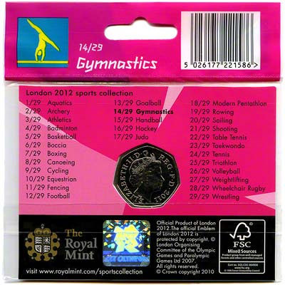 2012 Sports Collection - Gymnastics