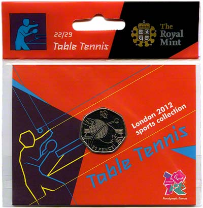 2012 Sports Collection - Table Tennis