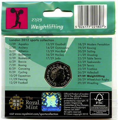 2012 Sports Collection - Weightlifting