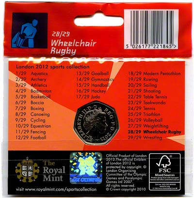 2012 Sports Collection - Wheelchair Rugby