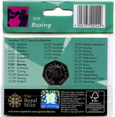 2012 Sports Collection - Boxing