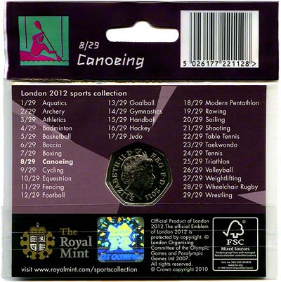 2012 Sports Collection - Canoeing