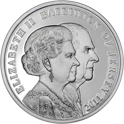 2011 Jersey 163 2 Silver Proof Coin