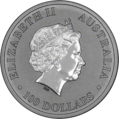 Obverse of 2011 Australian Silver Koala
