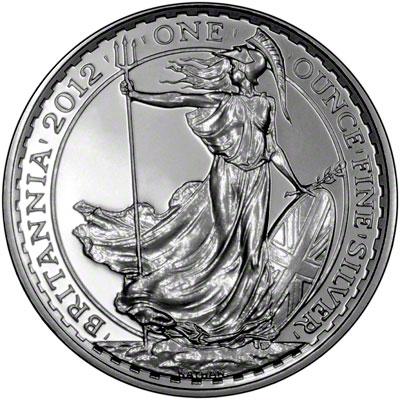 2012 Britannia Silver Bullion Coins
