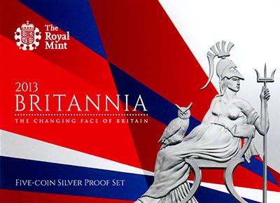 2012 Britannia Silver Proof Britannia Booklet