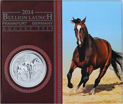 2014 Australian Year of the Horse - Series 2: Coin in Card, Viewed in Frankfurt, August 2013