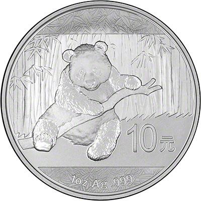 2014 Silver Panda Coin