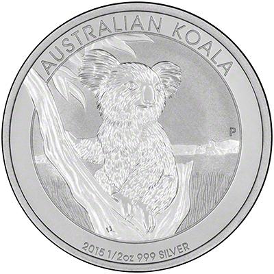 2015 Australian Silver Koalas
