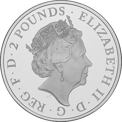 2015 Silver Proof Britannia Obverse