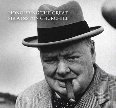 Winston Churchill Silver Proof £5 Information Booklet Cover