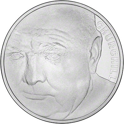 Winston Churchill Silver Proof £5 Crown