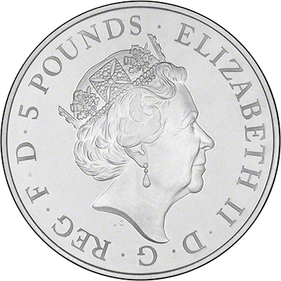 2015 Prince George's Second Birthday £5 Crown