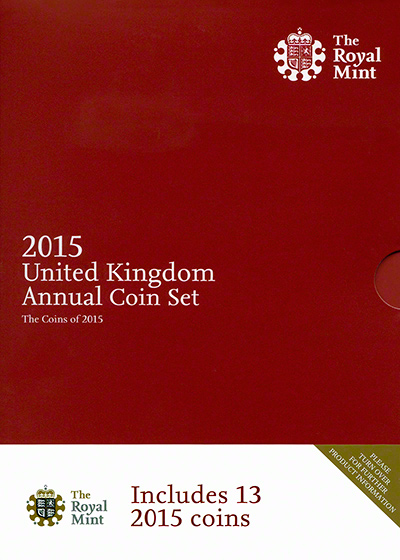 2015 Thirteen Coin Annual Set Cover