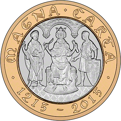 2015 800th Anniversary Of The Magna Carta 163 2 Coin