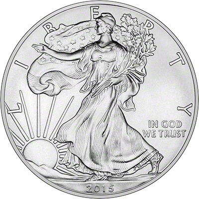 2015 US One Ounce Silver Eagle