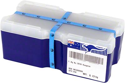 2016 Australian One Ounce Silver Kangaroo 'Monster Box'