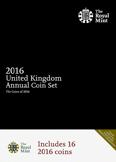 2016 Sixteen Coin Annual Set Obverse
