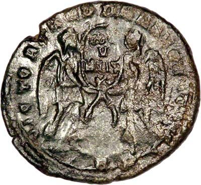 Reverse of Magnentius Cent