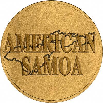 American Samoan Coin Disc