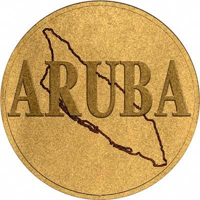 Aruban Coin Disc