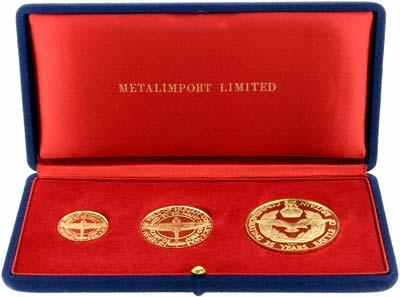Battle of Britain Medallions in Presentation Box