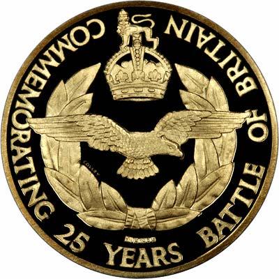 Battle of Britain Gold Medallion