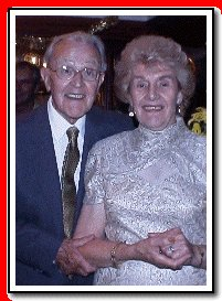 Bob and Betty celebrate their Golden Wedding Anniversary