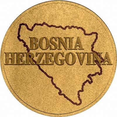 Bosnia Coin Disc