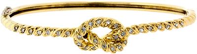 Second Hand Diamond Set Bangle
