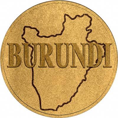 Burundi Coin Disc