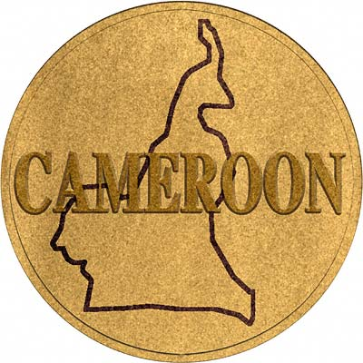 Cameroon Coin Disc