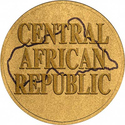 Central African Republic Coin Disc