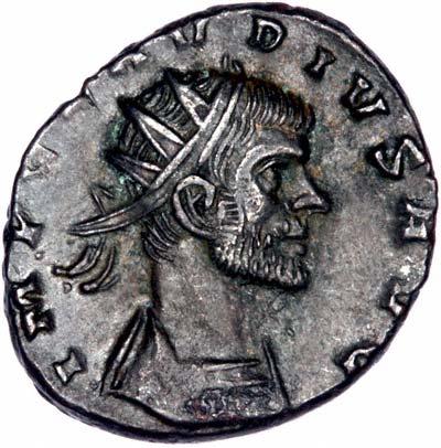 Portrait of Claudius II Antoninanus
