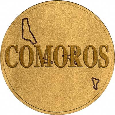 Comoros Coin Disc