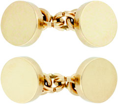 Solid 9ct Cufflinks