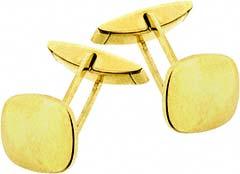Gold Cufflinks