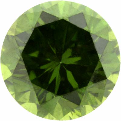 Fancy Green Coloured Diamond