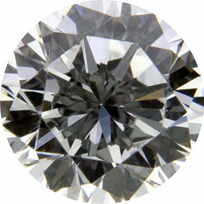 D Colour, VVS1 Round Brilliant Cut Diamond