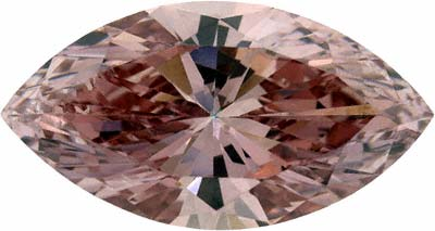 Enhanced Pink Marquise Diamond