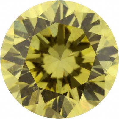 Fancy Yellow Coloured Diamond