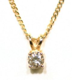 We Make Diamond Pendants in Many Different Sizes