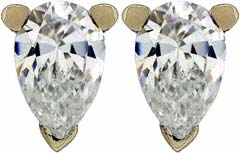 Second Hand 0.48ct Diamond Ear-Rings