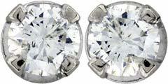 Second Hand 0.32ct Diamond Ear-Rings