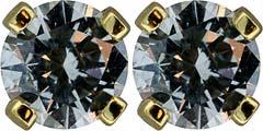 0.42ct Diamond Ear-Rings