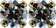0.66ct Diamond Ear-Rings