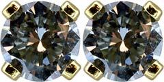 0.37ct Diamond Ear-Rings