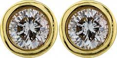 0.40ct Diamond Ear-Rings