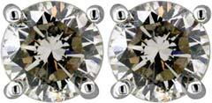 Claw Set 1.16ct Diamond Ear-Rings
