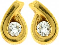 0.36ct Diamond Ear-Rings